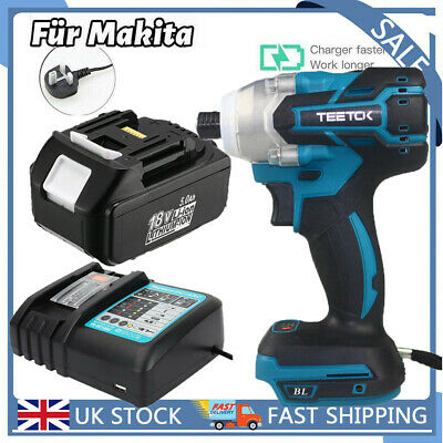 £58.04 • Buy 18V Cordless Combi Drill Impact Driver Screwdriver Or Li-Ion Battery Or Charger