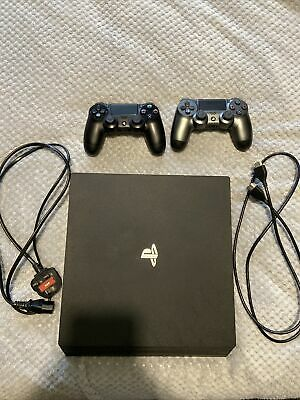 AU297.97 • Buy Ps4 Pro 1TB Video Game Console And 2 Controllers