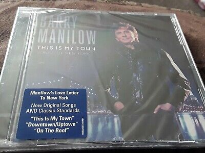 Barry Manilow This Is My Town CD Sealed • 1.28£