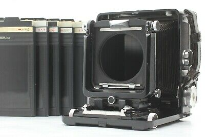 {EXC+5} WISTA 45SP 4x5 Large Format Feild Camera + Cut Film X5 JAPAN #998S • 493.73£