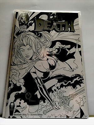 Lady Death #1e Apocalyptic Abyss 1:10 Retailer Incentive Coffin Comics Nm 2018 • 18.50£