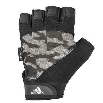 £8.90 • Buy Adidas Half Finger Gloves  Performance Weight Lifting Gloves Mens Training Gym