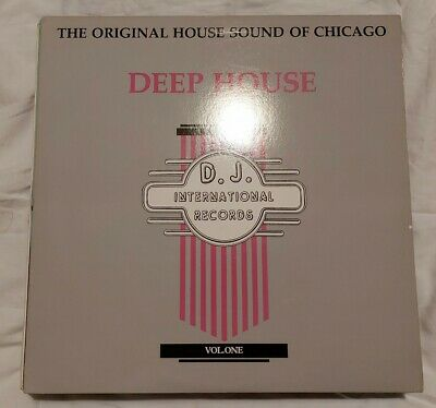 Various - The Original House Sound Of Chicago:deep House Vol.1 Lp  Dj 1019 Vg+! • 3.99£