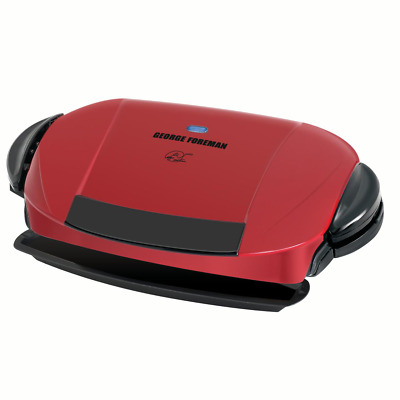 George Foreman 5-Serving Removable Plate, Indoor Grill And Panini Press,GRP0004R • 51.15£