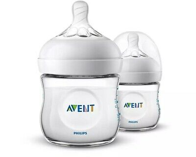 AU21.95 • Buy Philips Avent Natural Baby Bottle 125mL - 2 Pack