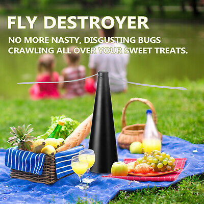 AU15.99 • Buy Automatic Fly Trap Fly Repellent Fan Keep Flies Bugs Food From Away Fruit AU