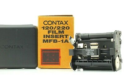 $ CDN525.21 • Buy [Unused] Contax MFB-1A 120 / 220 Film Insert For Contax 645 Film Back From Japan