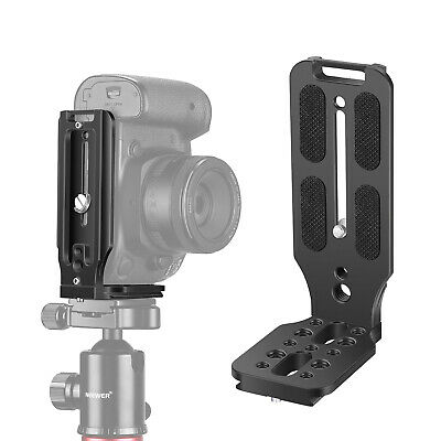 AU28.99 • Buy Neewer L Shape Bracket Vertical QR Plate Universal DSLR Camera L Bracket