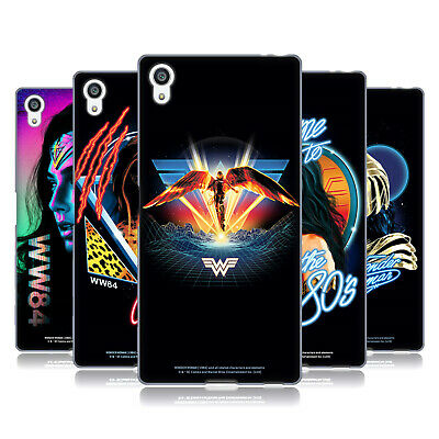 Official Wonder Woman 1984 80's Graphics Soft Gel Case For Sony Phones 2 • 15.58£