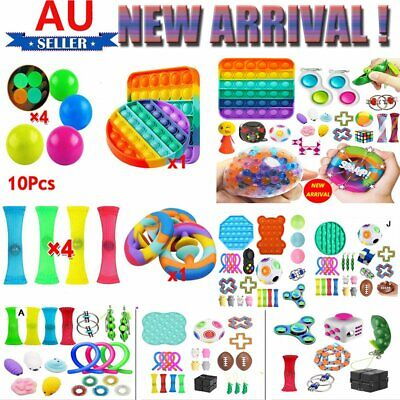 AU29.88 • Buy 20~24 Pack Sensory Fidget Toys Set Stress Relief And Anti Anxiety Toys For Kids
