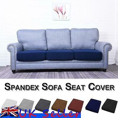 1/2/3/4 Seat Sofa Seat Cover Couch Slipcover Cushion Elastic Bottom Protector • 8.69£