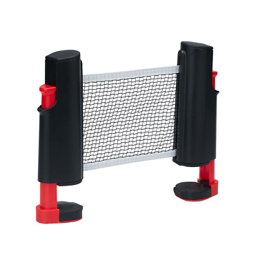 Retractable Ping Pong Net Portable Table Tennis Net Rack  Perfect For All Tables • 12.99£