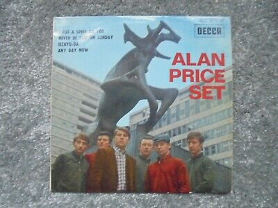 Alan Price Set - I Put A Spell On You 1966 FRANCE EP DECCA • 4.20£