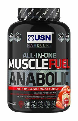 £27.99 • Buy USN Muscle Fuel Anabolic Protein Shake Strawberry 2kg