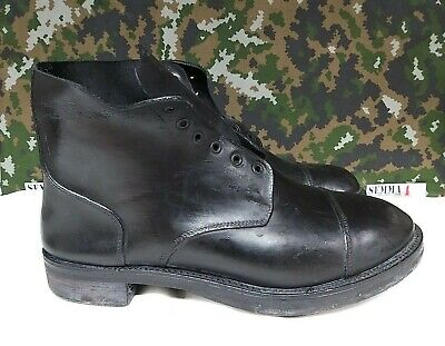 $74.60 • Buy New Soled British Army Military Drill  Parade Dress Combat Tapped Boots - 13 L