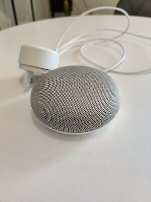 AU14.43 • Buy Google Nest Mini 2nd Generation Voice Assistant, Smart Speaker - Chalk