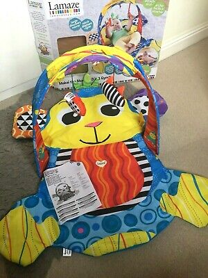 Tomy Lamaze Makai The Monkey 3 In 1 Gym Activities Playmat 0+ Boxed • 15£
