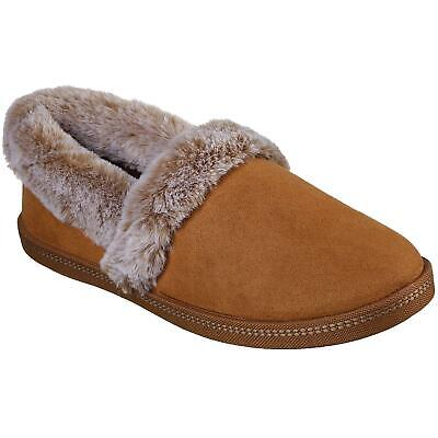 Ladies Skechers Cozy Campfire Team Toasty Chestnut Fux Fur Slippers 32777/csnt • 39.95£