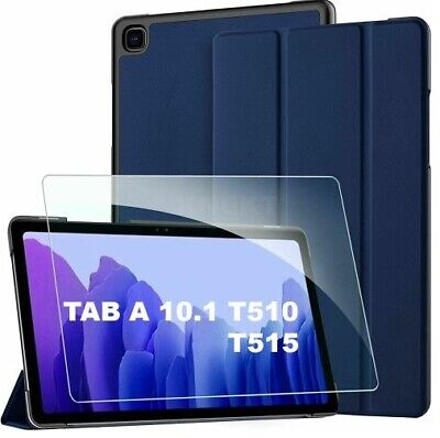 £9.99 • Buy  For Samsung Galaxy Tab A 10.1  SMT510 T515 Smart Cover Case With Tempered Glass