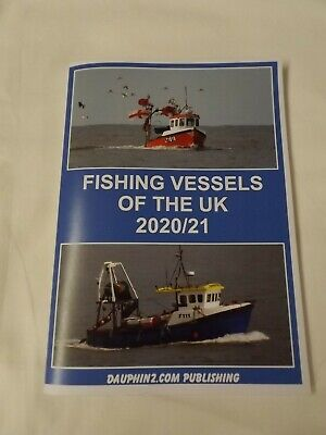 £10.99 • Buy Fishing Vessels Of The UK 2020/2021 - Paperback Book NEW - Ship / Boat Spotting