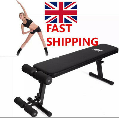JX FITNESS ADJUSTABLE Weight Bench Home Gym Weight Lifting & Situp Home Exercise • 149.99£