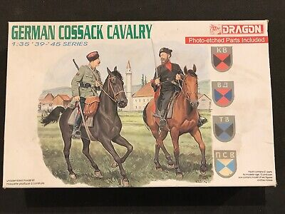 1:35 Scale Dragon 6065 German Cossack Cavalry • 8.99£