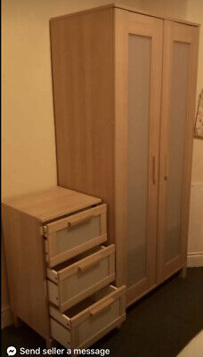 £69.99 • Buy Quality Bargain Ikea 2 Door Wardrobe & Chests Of Drawers Set Located In Cardiff