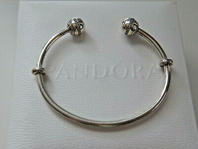 AU50 • Buy Authentic PANDORA Sterling Silver SHOOTING STAR OPEN BANGLE. Size 2