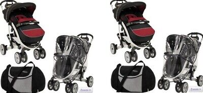 *New* Genuine Graco Quattro Tour Sport Accessories: Bag, Foot Muff & Rain Cover • 32.99£