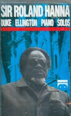 AU8.87 • Buy SIR ROLAND HANNA - Duke Ellington Piano Solos - New Sealed Musicmasters Cassette