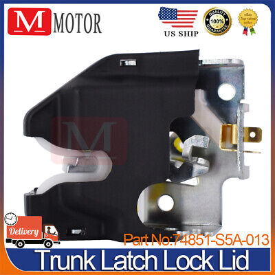 $15.69 • Buy New Trunk Latch Lock Lid For 2001-2005 Honda Civic 74851-S5A-013 US Free Ship