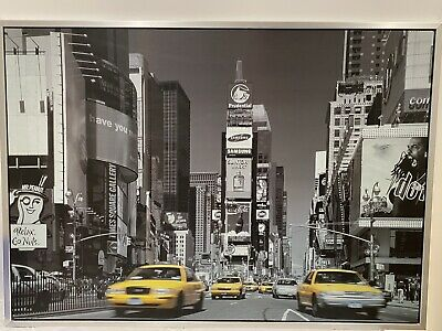 IKEA New York 'Times Square' Wall Hanging Picture • 10£