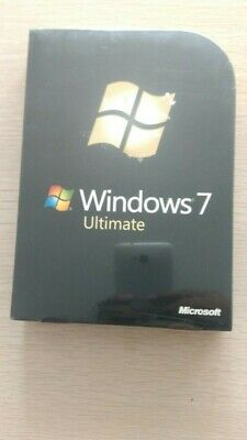 Microsoft  Windows 7 Ultimate 32/64 Bit Retail  DVD • 115£