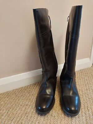 Women Shoe  Boot Knee High Boot Uk Size 4 Brown Colour • 5.50£