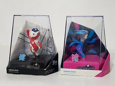 £8.99 • Buy LONDON OLYMPICS 2012 COLLECTOR SERIES Wenlock And Mandeville Figures