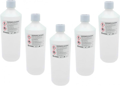 AU65.27 • Buy Hexeal IPA 100% | 5L | Lab Grade | Isopropyl Alcohol/Isopropanol (99%) Brand