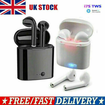 Bluetooth Wireless Earbud Headphones Earphones Earbuds FOR ALL BLUETOOTH DEVICES • 8.68£