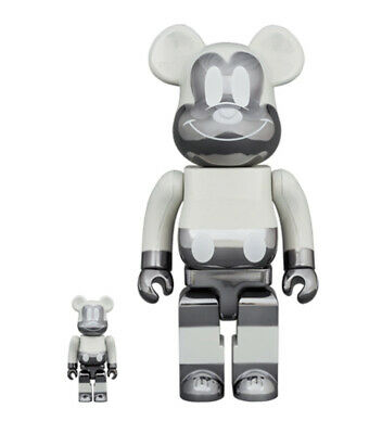 $430 • Buy Medicom Toy Bearbrick Be@rbrick Fragment Mickey Mouse Reverse