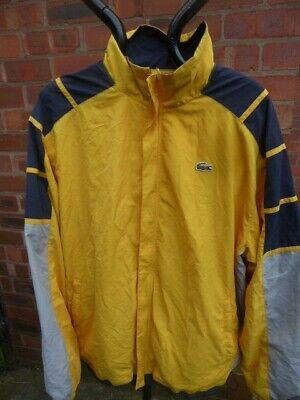 Mens LACOSTE Tracksuit Top/jacket - Size 4/180 Good Condition • 27.99£