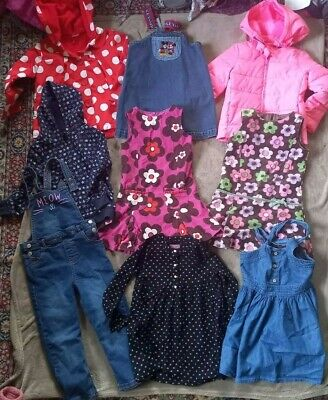 Bundle Girls Clothing Age 5-6 Years (Boden Dresses, Jackets And Others) • 6£
