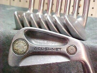 AU93.95 • Buy Titleist Acushnet AC-108 Golf Clubs RH Set Used Stainless Irons 3-PW W New Grips