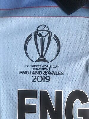 England Cricket Shirt Kids Aged 14 BNWT • 11.99£