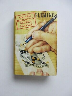 On Her Majesty's Secret Service - Ian Fleming  - Jonathan Cape  First Edition • 24.99£