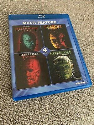 Hellraiser Multi-Feature Blu-Ray Set. 4, 5, 6 And 8. • 19.01£