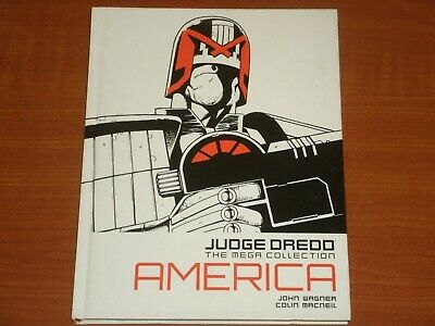 Judge Dredd 'The Mega Collection'  #1 AMERICA  By John Wagner & Colin Macneil • 9.99£