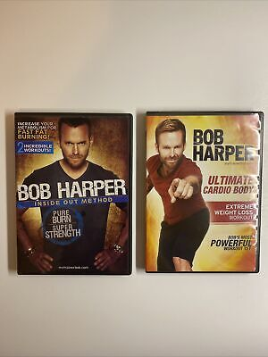 Lot Of 2 Bob Harper: Inside Out Method Ultimate Cardio Body Extreme Weight Loss • 5.71£