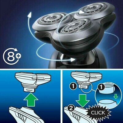 AU15.25 • Buy 3D Shaving Head RQ12+ Replacement For Philips Norelco RQ10 SensoTouch Shaver AU