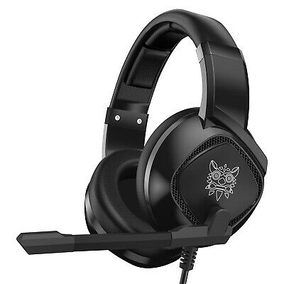 AU39.95 • Buy Gaming Headset ONIKUMA K19 With Mic Gaming Headphone For PS5 PS4 PC Laptop