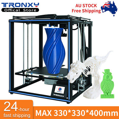 AU459.95 • Buy Core XY 3D Printer Tronxy X5SA Pro Guide Rail Titan Extruder Big Printing Size