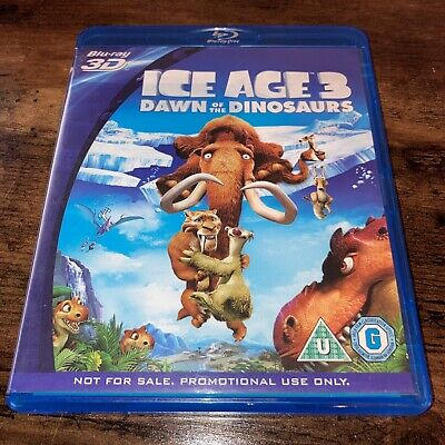 3D Blu Ray Movie, Ice Age 3 • 2.42£
